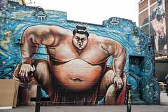 Jaunt with Dave to London (Sunrise Calls) Tags: london spitalfields city graffiti brick lane