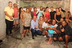 Cumprindo a minha agenda, fui para Abolição, na zona norte do Rio, e lá puder saber das reivindicações dos moradores do bairro, como a falta de projetos sociais na localidade; a carência de muitas especialidades médicas, na Clínica da Família.