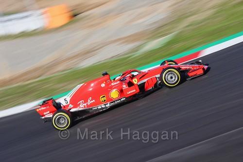 Sebastian Vettel during Formula One Winter Testing 2018