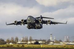 A7-MAO - Qatar Emiri Air Force C-17   LBG (Karl-Eric Lenne) Tags: