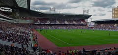 West Ham United v Leicester City at the Boleyn Ground, London E13, October 2011 (sbally1) Tags: westham whu football boleynground london londone13 e13 eastlondon hammers stadium