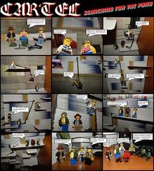 Cartel - searching for the pyro (Ostravak83) Tags: nikoncoolpix 2018 kartel cartel story storyline comics komix příběh toy toys hračka minifigurky minifigures lego legooutdoor makro macro detail closeup pyrotechnics crime fight war battlezone