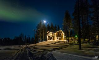Casa de campo en Laponia