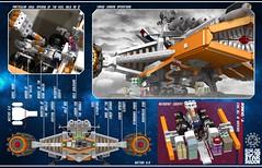 Star Shadow 23 (messerneogeo) Tags: messerneogeo star shadow astrofist lego mech mecha spaceship