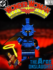 Wonder Woman No.6 (Andrew Cookston) Tags: lego dc comics wonder woman diana prince ares superhero custom minifig funnybrick war cover nuke nuclear explosion red yellow blue black george perez bruce patterson len wein tatjana wood 1987 themyscira macro toy still life photography andrew cookston andrewcookston
