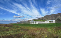 Where are my neighbours? (RIch-ART In PIXELS) Tags: iceland canon grass grassland sky house landscape mountain field