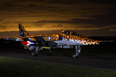 SEPECAT Jaguar GR3A - 7 (NickJ 1972) Tags: raf cosford photoshoot photocall photo shoot night nightshoot threshold aero aviation 2018 sepecat jaguar gr3 xx119 ai spotty