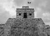 Vive México (MrTheEdge7) Tags: mexico cozumel pyramid wind flag maya mayan