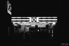In the dead of night (D. R. Hill Photography) Tags: circlek blackandwhite night store street vsco vscofilm grain grainy travel indonesia bali ubud nikon nikond750 d750 nikon28mmf18g 28mm wideangle