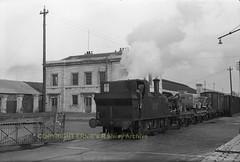 Cork Albert Quay station 217 passes onto the Cork City line ca 1956 img293 (Ernies Railway Archive) Tags: corkalbertquaystation cbsc ir ie cie irishrail