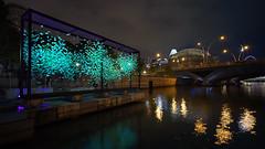 FLAWLESS (ah.b|ack) Tags: sony a7ii a7mk2 cosina voigtlander super wideheliar 15mm f45 aspherical iii vm ilight marina bay 2018 singapore flawless art installation cityscape night