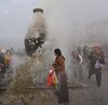 Incense burner in front of the Jokhang, Tibet 2017 (reurinkjan) Tags: tibetབོད བོད་ལྗོངས། 2017 ༢༠༡༧་ ©janreurink tibetanplateauབོད་མཐོ་སྒང་bötogang tibetautonomousregion tar ütsang lhasa jokhang lhadentsuglakhang jowokhang ཇོ་ཁང་ barkhorstreet tibetanབོད་པböpa sunriseཉི་ཤར།nyishar sunisrisingཉི་མ་འཆརnyimanchar tibetanpeopleབོད་མིbömi བོད་འབངསbömbang thewildfolksoftibetབོད་སྲིནbösin tibetanpeopleབོད་རིགསbörik incensesmokeofferingལྷ་བསང་lhabsang religiousceremonyofburningincensejuniperetcབསངས་གསོལbsangsgsolsangsöl cloudsofincensesmokeསྤོས་ཀྱི་དུད་སྤྲིནsposkyidudsprinpökyidütrin fragranttreegoodforincensenonpricklyhimalayanjuniperབདུག་སྤོས་ཤིང༌bdugsposshingdukpöshing