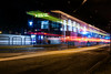 the m at balboa park (pbo31) Tags: bayarea nikon d810 color night dark black march 2018 winter boury pbo21 sanfrancisco city urban lightstream traffic roadway motion missionterrace outermission muni tram motionblur balboapark station transit