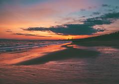 imprints on the sand (Matt Northam) Tags: beach clouds coast coastline dorset dusk rocks sand southbourne sunset water waves x20