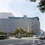 The facade of Hanshin Umeda renewal (大阪神ビル・新阪急ビル建替計画)