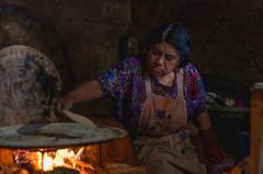 Making Tortillas (pietkagab) Tags: woman indigenous tzotzil chiapas mexico mecican central america tortillas corn fireplace fire traditional food cooking preparation native pietkagab photography pentax pentaxk5ii travel trip tourism sightseeing adventure