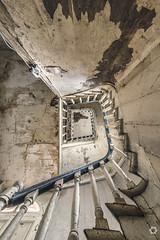 Urbex Stairporn (lelargla) Tags: irix 15 mm f24 canon 6d mark ii urbex france