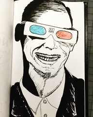 Day 97/100 #100daysoftshirtdesigns #100daychallenge #NMSC_ART  #johnwaters #3dglasses #filmdirector #pencilmoustache   #colorpencil #penandink (kevinebb) Tags: 100daysoftshirtdesigns 100daychallenge nmscart johnwaters 3dglasses filmdirector pencilmoustache colorpencil penandink
