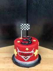race car lightning mcqueen (backhomebakerytx) Tags: cake birthday kids child cool race car boy 3rd lightning mcqueen backhomebakery