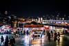 Eminönü (demerval) Tags: night eos goldenhorn bridge travel tower ef24105mm people river canon galata istanbul turkey eminonu tr