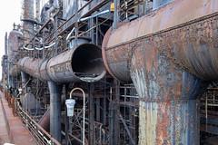 Bethlehem Steel_4 (William_Doyle) Tags: national museum industrial history bethlehem pa historic steel steam engine iron blast furnace march 2018