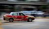Hong Kong cab (fredrik.gattan) Tags: paning taxi car cab toyota road city moving speed blur motion hongkong hong kong china kowloon street panning