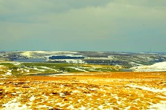 Scotland - Moors with snow. Along the drive (NNJHA1971) Tags: