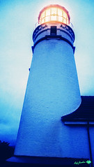 © Cody Jacobson-ZEN MOUNTAIN MEDIA all rights reserved (codyjacobson@zenmountainmedia.com) Tags: photohsop digitalart portfolio landscapephotography night clouds capeblanco lighthouse southwestern oregon coast beach pacificnorthwest