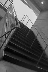 stairs (Smcabel) Tags: cannon stairs black white grey greyscale travel school