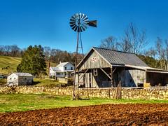 farm scene in Rockbridge County,, Virginia (Retronaut) Tags: hdr