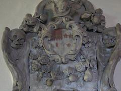 Eglise St Multose (archipicture71) Tags: ireland irlande church tower grave tomb romanesque norman sarcophagus kinsale eglise multose tour tombeau normand roman monument funéraire armoirie coat arms