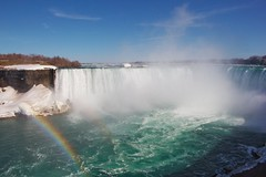 Niagara Falls Rainbow (xx397) Tags: rainbow niagara falls water colorful nature waterfalls lake ontario trip waterfall canada