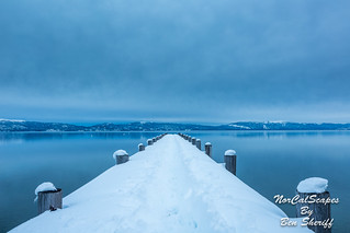 Winter Pier, Lake Tahoe
