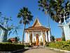 Wat Kampheng Pagoda, Battambang (Travolution360) Tags: cambodia battambang wat kampheng pagoda buddha religion kambodscha cambodge temple building monk robe orange travel journey trip holiday