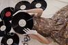 traum (wanda.w) Tags: vintage retro music vinyl lp dress fashion gloves glove white nikon d5100 nikkor lens 40mm pearls clock time art artsy melody love