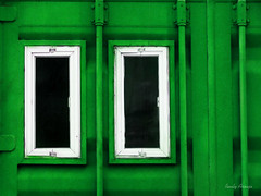 DSC00220 cópia3 (rauly 1974) Tags: cor cores colorido abstrato abstração janela janelas geometrico green verde windows color colores geometric abstracion