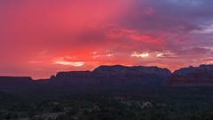 Sedona ... A Glowing Ending (Ken Krach Photography) Tags: sedonaarizona
