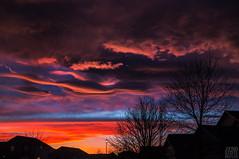 Colordao_Sunset_Clouds_House_Black (Zero State Reflex) Tags: colorado denver sunset clouds vibrant landscape landscapephotography photography canon 5dmark3