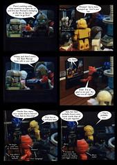 Tales from Cybertron 84 (Lazy Ass Artisan) Tags: ultra magnus arcee hot rod flareup firestar elitaone elita kup skydive chromia transformers autobots cybertron iacon kreo lego