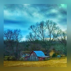 "Color me ""Missouri ""..... (Sherrianne100) Tags: landscape countryside rural farm barn ozarks missouri"