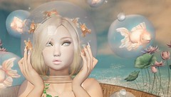 Dreamy Pond (Duchess Flux) Tags: skinfair palegirlproductions arcade nani laq magika astralia momochuu secondlife sl