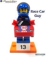 13) Race Car Guy (WhiteFang (Eurobricks)) Tags: lego collectable minifigures series city town space castle medieval ancient god myth minifig distribution ninja history cmfs sports hobby medical animal pet occupation costume pirates maiden batman licensed dance disco service food hospital child children knights battle farm hero paris sparta historic brick kingdom party birthday fantasy dragon fabuland circus