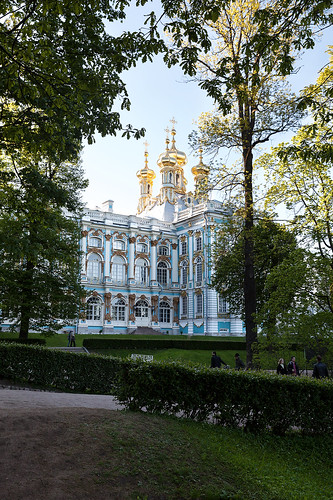 Catherine Palace. Church of Resurrection 2.