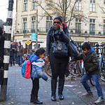 Managing Kids and Phone Calls, Amsterdam 2014 thumbnail