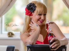 Model - Jackie (MonoFoto UK) Tags: model nsfw photoshoot 50s boudoir