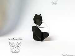 Petit Manchot - Barth Dunkan. (Magic Fingaz) Tags: barthdunkan bird manchot origami penguin pingüino пингвин पेंगुइन เพนกวิน 펭귄 ペンギン 企鹅