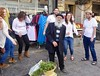 A star is born - 1, Shuk Mahaneh Yehuda, Jerusalem (Yekkes) Tags: israel middleeast jerusalem street urban market shuk fun joy happiness dance sing music elderly mahanehyehuda city surprising jewish jews religious
