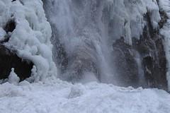 Pissevache (bulbocode909) Tags: valais suisse vernayaz pissevache nature montagnes hiver gel glace eau cascades