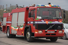 Irving Oil 1991 Volvo FL6/17 Reynolds Boughton MFoT J236XTW (Shane Casey CK25) Tags: 1991 volvo fl617 reynolds boughton mfot j236xtw fl6 17 j236 xtw major foam tender fot works industrial ert emergency response team rescue service red truck lorry blue bluelights lights lightbar appliance siren sirens flash flashing crew officer firefighter fighter brigade firebrigade fireengine engine fireman firemen station firestation equipment irving oil white refinery ireland irish pompiers feuerwehr vigili del fuoco brandweer corpo de bombeiro straż pożarna brannvesen palokunta brandkår brandvæsen