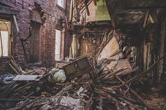 Brownsville Hospital - PA (justinsphotog) Tags: urbanex urban urbex urbandecay urbandexploring uer abandoned abandonedplaces abandonjunkies canon decay pa tresspassing pennsylvania